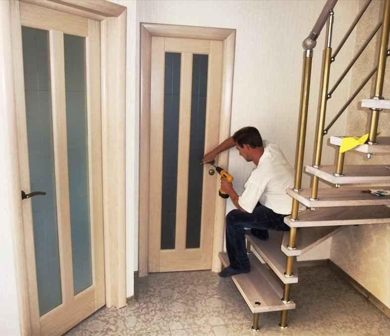 Установка дверей мастер и к своими руками